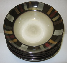 Pfaltzgraff Everyday Tahoe Soup Cereal Bowls Set of 5 - $28.00