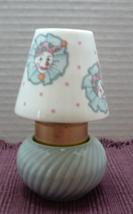 Vintage Porcelain Tea Light Holder // Blue CLOWN Candle Holder // Nurser... - $10.50