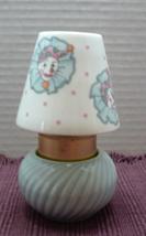 Vintage Porcelain Tea Light Holder // Blue CLOWN Candle Holder // Nursery Decor - $10.50