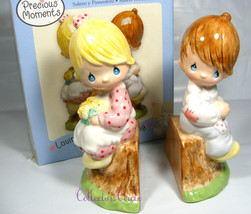 Precious Moments Simply Adorable Salt And Pepper Shakers Retired 2006 - $24.97