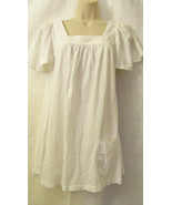 NWT EMMA&SAM LF STORES KNIT COTTON FASHION PEASANT TOP DRESS,SZ XS X-SMA... - $29.95