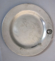 RWP Wilton Pewter Plate Colonial Crest Vintage ... - $29.90
