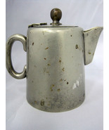 """Creamer Pitcher Nickel Silver Plate Hinged Lid 4"""" - $19.99"""
