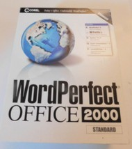 Corel Word Perfect Office 2000 Standard Edition 2000 - $19.00