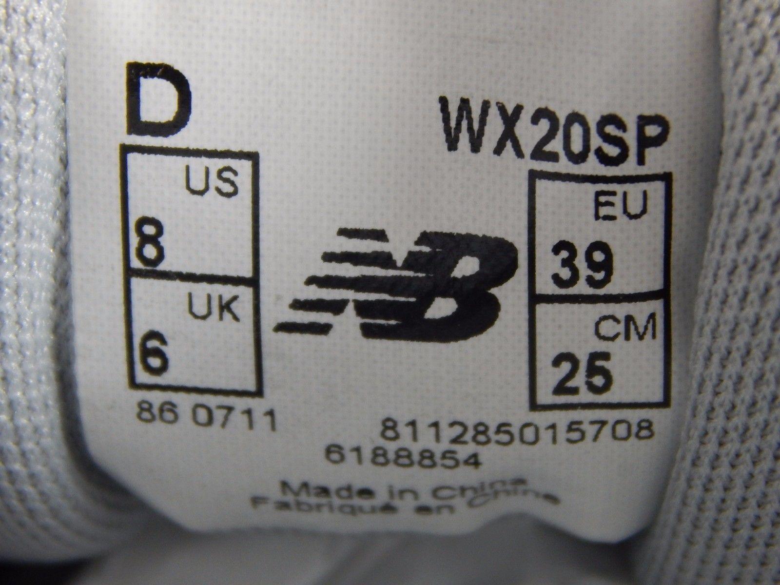 New Balance Minimus 20 Women's Cross Training Shoes Sz US 8 D WIDE EU 39 WX20SP
