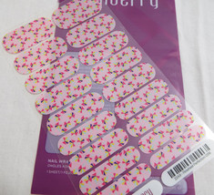 Jamberry Pinwheel Perfection 0316 22A9 Heat Activated Nail Wrap (Full Sheet) - $15.14