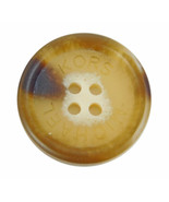 "Michael Kors Plastic Brown Blend Pocket or Sleeve Replacement Button .60"" - $4.90"