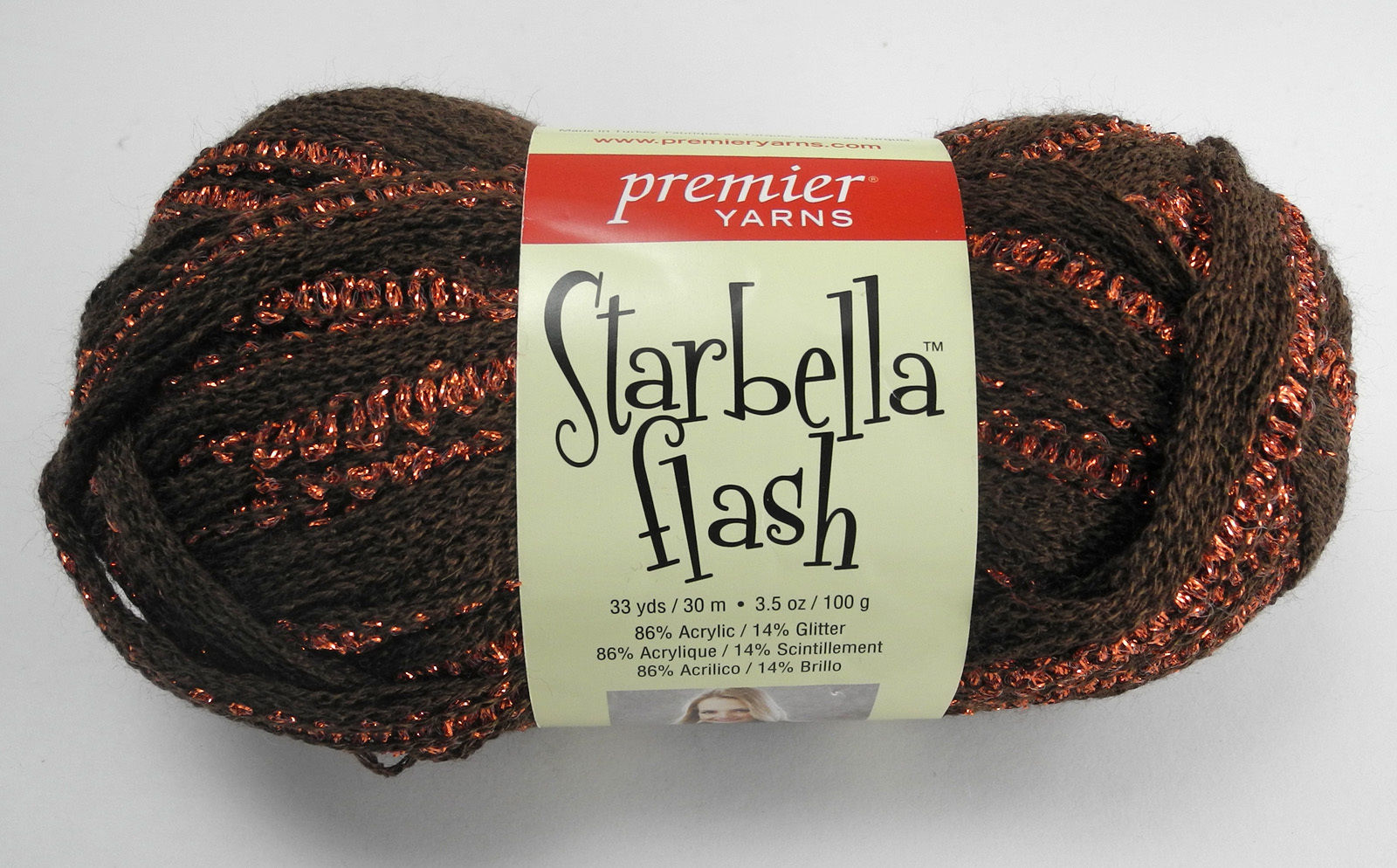 Starbella Flash Acrylic/Glitter Yarn - 1 and 49 similar items