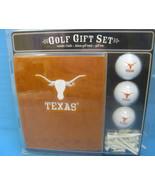 Texas Longhorns NCAA Embroidered Golf Towel Gift Set  - $29.55