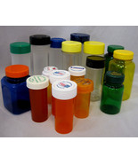 Craft Bottles Clean Used Assorted Sizes Storage for Small Items Lot of 17 - $15.95