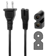 Tacpower 6ft AC Power Cord flat Figure 8 for SONY RDRGX7 BDPS500 BDPBX1 ... - $12.75