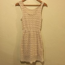 Pins & Needles Crochet Knit Boho Festival Dress Stretch Urban Outfitters... - £21.00 GBP