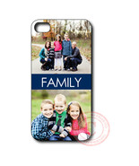Custom Your Own Image Family Gift iPhone Case - Rubber Silicone iPhone 4... - $12.99