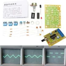 Function Signal Generator DIY Kit Sine Square Triangle CL8038 Monolithic  - $8.95