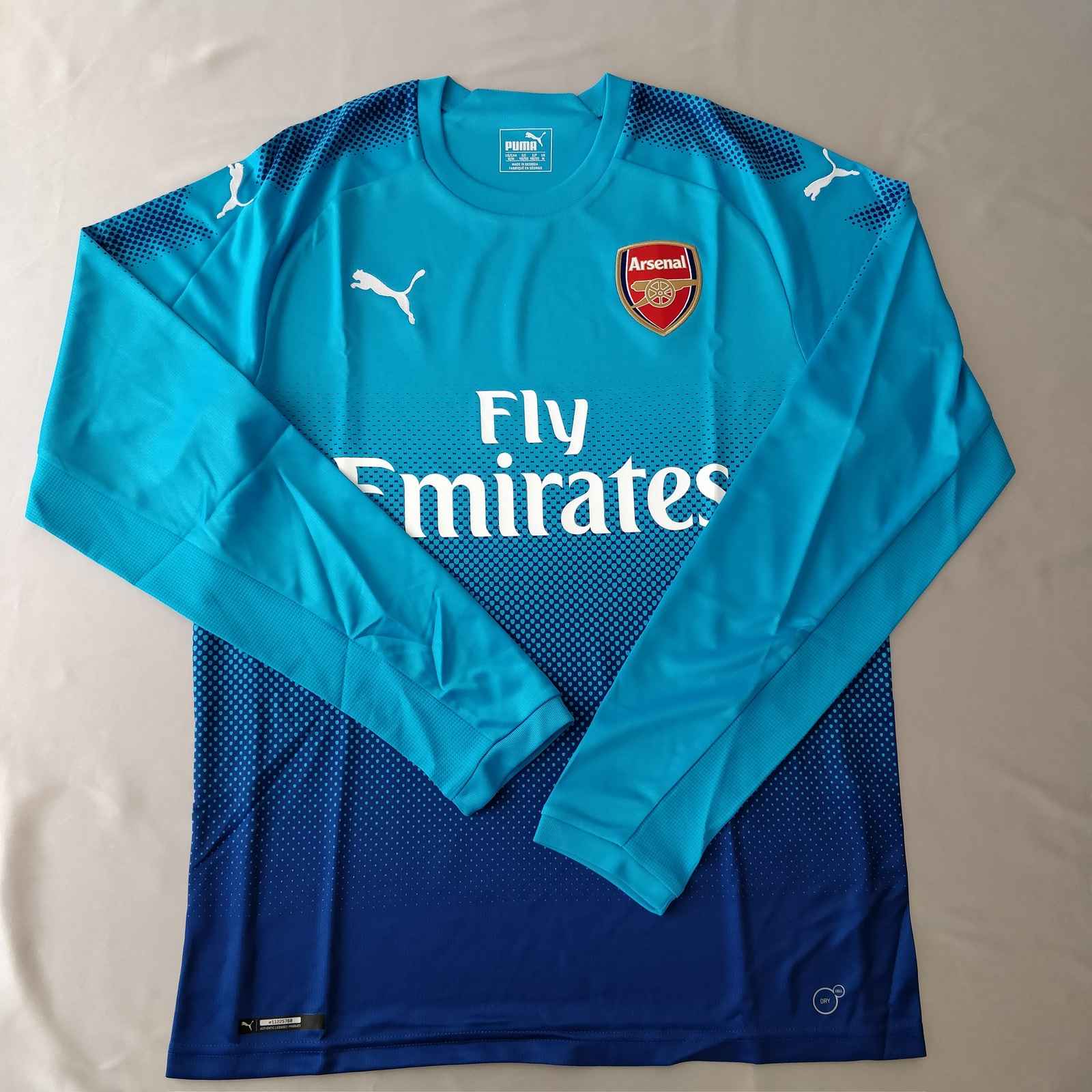 Primary image for Arsenal Away Jersey 2017/18 Puma Fans Version Blue %100 Original