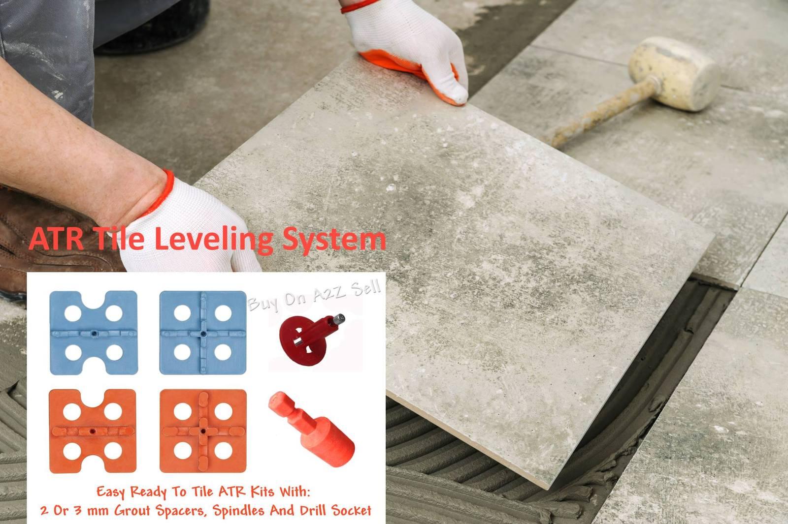 Atr tile leveling alignment system diy kit 3mm floor for Diy dog bathing system