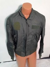 SUMMER AIR FORCE FLYERS COAT JACKET CWU-36/P LARGE ITEM# A4 - $79.15