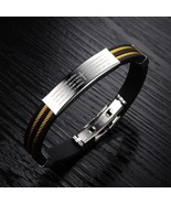 Unisex Gold/Silver Cable Wire Lord's Prayer Bracelet ! Only $29,95 ! - $29.95