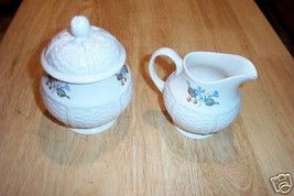 Wedgwood cream and sugar (Londenberry)1 available - $26.68