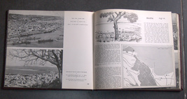 Vintage 1950 Book A Tour Through Israel Illustrated Hebrew English French image 7