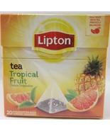 Lipton White Tea TROPICAL FRUIT tea -1 box/ 20 tea bags - $4.94