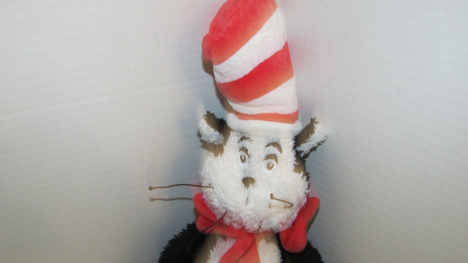 """Dr. Seuss Plush The Cat in the Hat Manhattan Toy Co shaggy furry 18""""  2001"""
