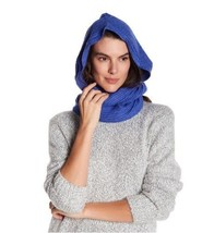 Free People Women's Bottom Line Hooded Rib Cowl Neck Wrap, Taupe NWT image 2