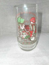 Holly Hobbie Merry Christmas COKE COCA COLA DRINKING GLASS Limited Editi... - $9.49