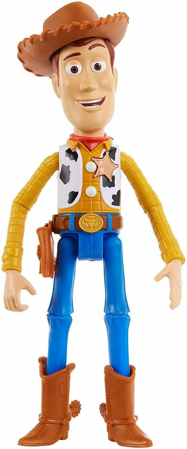 "Disney Pixar Toy Story 4 True Talkers Talking Woody Figure 9.2"" BRAND NEW image 2"