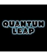 Quantum Leap TV Series Name Logo Black T-Shirt NEW UNWORN - $19.34+