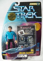 Star Trek Warp Factor 1 Dr Julian Bashir 65110 Action Figure NRFP 1997 - $8.79