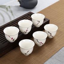 WSHYUFEI 6 PCS/lot Kung Fu tea ceramic composition whole - $35.95