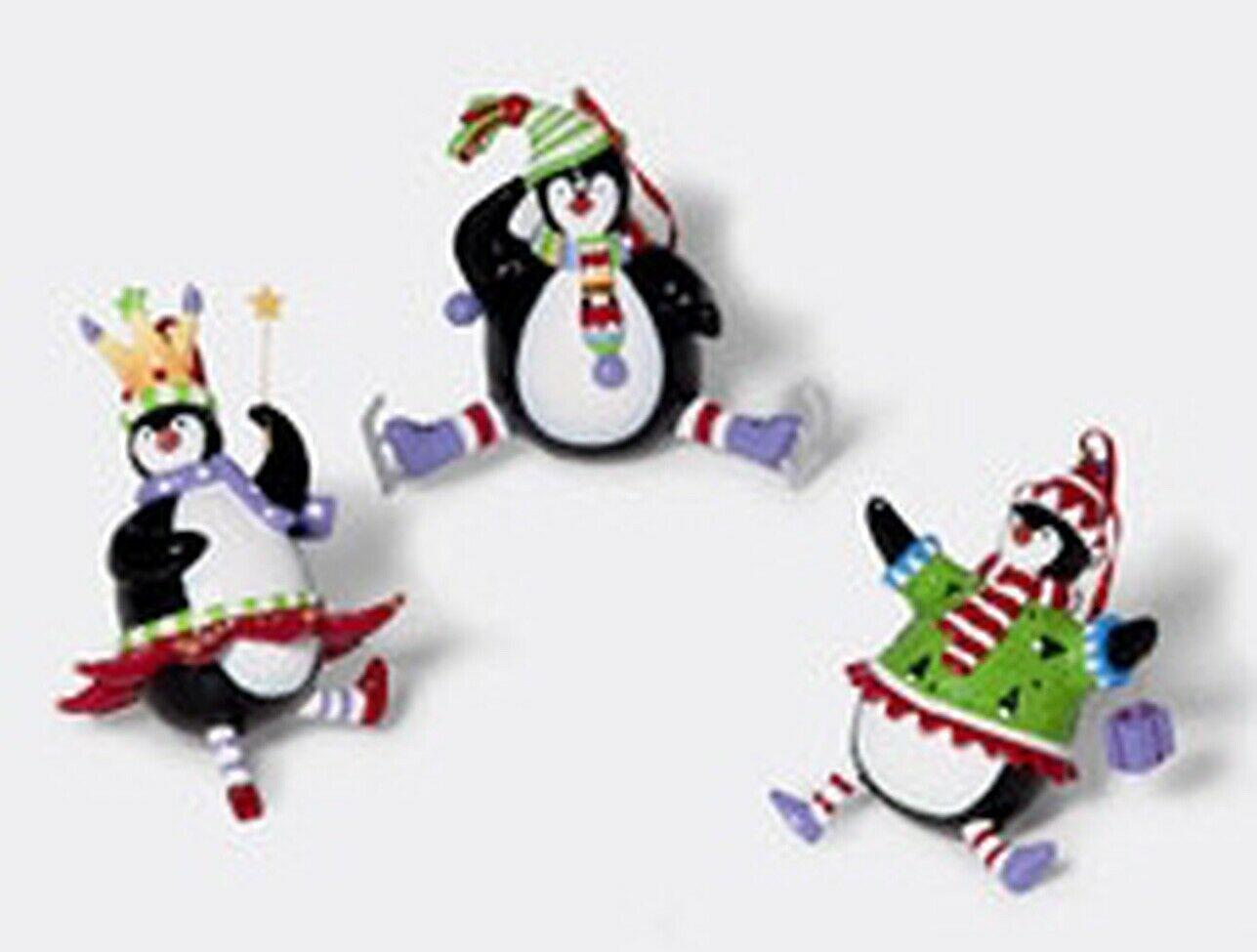 "Department 56 retired mini penguin set of 3   3 1/2"" 56-88955 - $29.99"