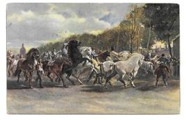 Der Pferdemarkt Horse Fair Market Artist Rosa Bonheur 1948 Stengel Art P... - $6.69