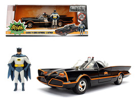 1966 Classic TV Batmobile with Diecast Batman and Plastic Robin in the car 1/24 - $39.95