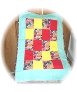 Marvel Comics Super Girl's Fabric Patchwork Baby/Toddler Quilt  - $25.00