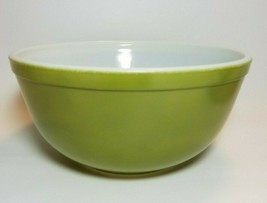 Vintage Pyrex 403 Verde Green  2-1/2 Quart Mixing Nesting Bowl Ovenware - $16.78