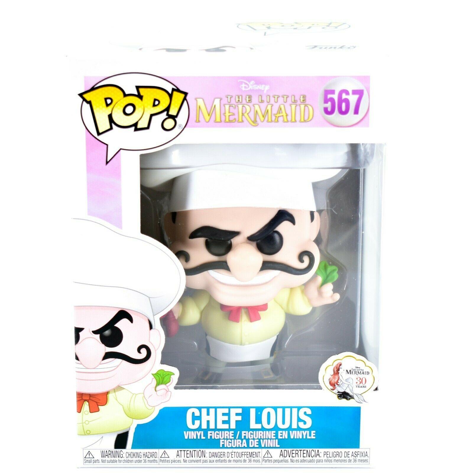 Funko Pop! Disney 30 Years The Little Mermaid Chef Louis Vinyl Figure #567