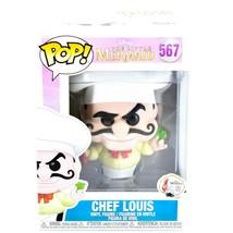 Funko Pop! Disney 30 Years The Little Mermaid Chef Louis Vinyl Figure #567 - $16.82