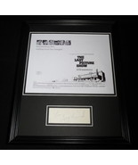 Peter Bogdanovich Signed Framed 11x14 Photo Display The Last Picture Show - $123.74