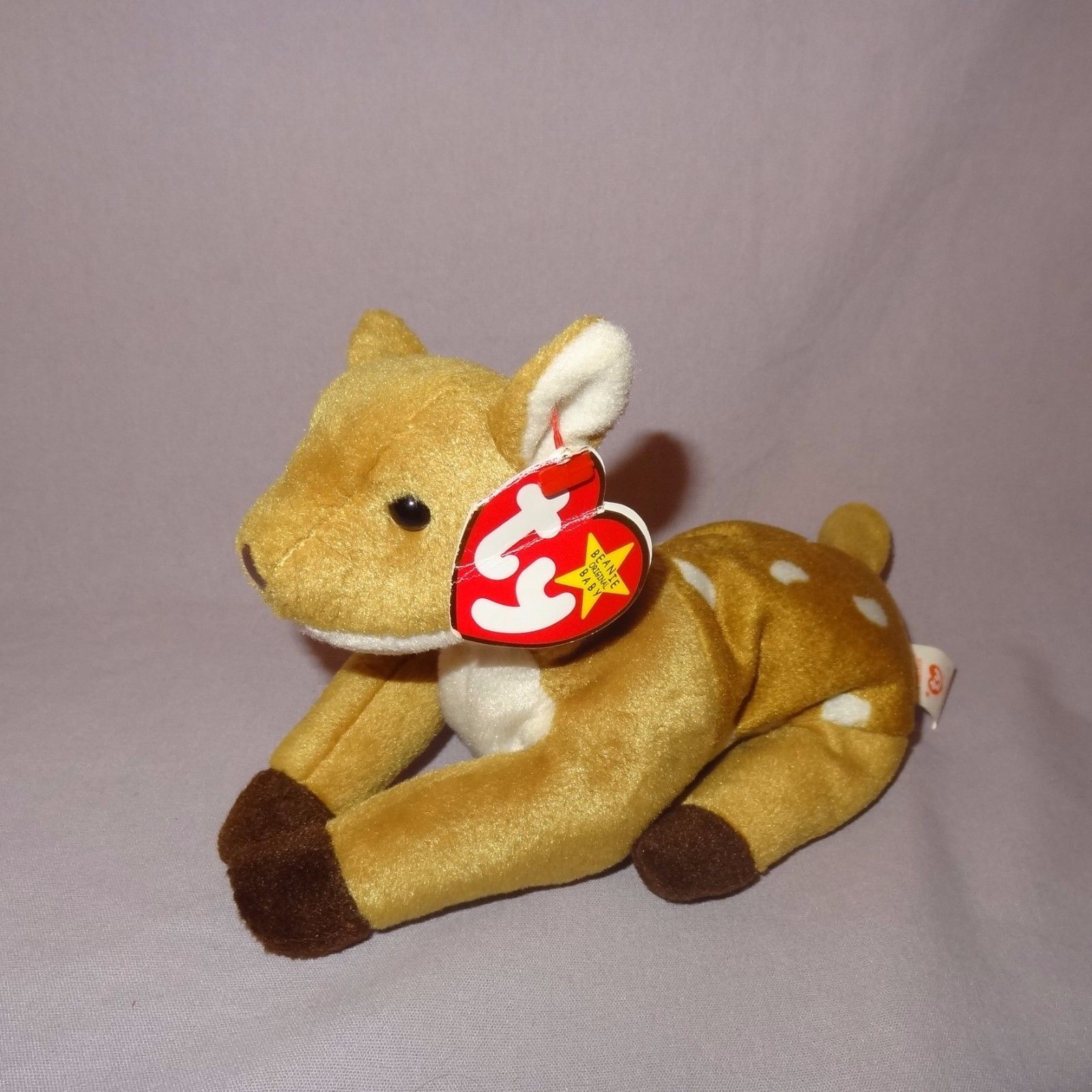 Whisper Deer Fawn Ty Beanie Baby Plush and 18 similar items d4ecf0626dc4