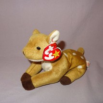 Whisper Deer Fawn Ty Beanie Baby Plush Stuffed Animal Toy 1997 Tush tag ... - $28.99