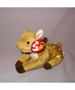 Whisper Deer Fawn Ty Beanie Baby Plush Stuffed Animal Toy 1997 Tush tag ... - $28.99