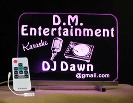 Personalized DJ Karaoke LED Bar Sign  image 1