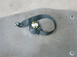 2013 CHEVROLET CRUZE BLACK RIGHT REAR SEAT BELT ASSEMBLY