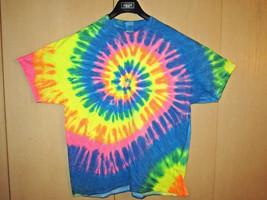 Gildan XL Tie Dye Multicolor Spiral Short Sleeve TShirt - $31.85