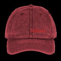 San Francisco Hat / 49ers Hat // Vintage Cotton Twill Cap image 4