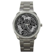 Celtic Knot Horses Sport Metal Watch Cift model 32049408 - $15.99