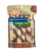 Premium Pork Chomps Twist with Duck Dog Treat L... - $6.68