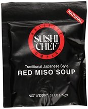Sushi Chef Red Miso Soup, 0.53 oz - $5.89
